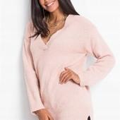 Мягкий, уютный, качественный свитер. р-р: 42. новый. описание