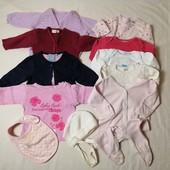 ЛоВиЛоТы! Пакет одежды для малышки 3-6 мес.