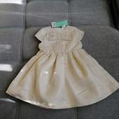 Блиц-цена! Восхитительное платье для принцессы от Рерсо! держит форму! Рост 98 на 3 года! Замеры!