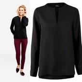 Черная легкая блуза heidi klum Esmara Германия, размер 36евро (наш 42)