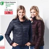 Стильная двухсторонняя стеганная деми куртка на утеплителе tchibo(германия) размер 36 евро=42-44