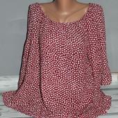 блуза-рубашка батал! рекомендую! есть нюанс на ткани. 75 см ширина под рукавами, Индия