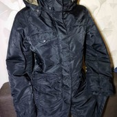 Теплая куртка, парка. плотная ткань, хорошее качество