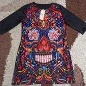 Платье XL размер, микродайвинг