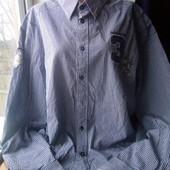 Очень красивая мужская рубашка,состояние отличное,р.22/24(2ХЛ/3ХЛ,58/60),смотрите замеры