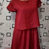 ❤️Новое, эксклюзивное платье из дорогого плотного шифона с люрексом на подкладке ❤️