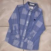 Стоп !❤отличная фирменная рубашка,3-4 года❤ Много лотов!