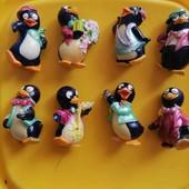 киндеры пингвины, 90х