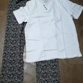 Мужская пижама для дома и сна Livergy размер М 48 /50,много лотов с мужским бельём)