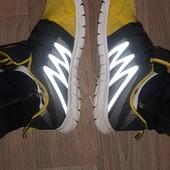 кроссовки starter в хорошем состоянии со светоотражателями