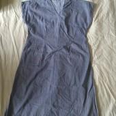 Легкое платьеце-халатик✓Натур.ткань✓Новое✓Пог.60-65✓Такое одно✓Много лотов✓