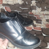 р.33 примерно 21,5см Деми ботинки детские без утеплителя Очень удобные