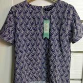 ☘ Лот 1 шт ☘ Блуза з принтом морського коника Sugarhill Boutique (Англія), рр. наш 44-46: 38 євро