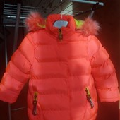 Зимняя детская неоновая куртка Hikis