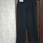 Фирменные новые коттоновые мужские брюки-слаксы р.32-31 на пот-40,5-41,5 поб-54-56
