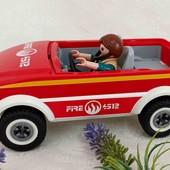 Машинка Playmobil и человечек Geobra одним лотом