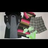 Пакет одежды микс на девушку размера XS/S