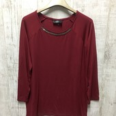 ☘ Лот 1 шт ☘ Блуза з декорованою горловиною від Gina Benotti (Німеччина), розмір S 36/38