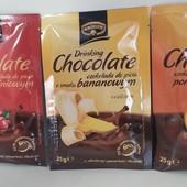 Польша.Горячий шоколад Kruger со вкусом банана,или апельсина,или вишни 25 г.В лоте 1 на выбор