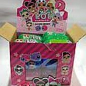 Готовим подарочки)LOL Surprise)в капсуле с куклой и конфетами.В лоте штука,можно докупить)