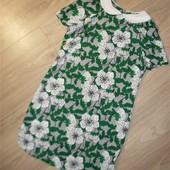 Яркое легкое платье размер 8