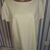 Жовта котоноа нарядна футболочка George, р18 (Пог -55)