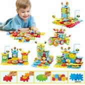 ✅ Детский развивающий конструктор 81 детали! Funny Bricks, Фанни Брик,Веселые шестерни