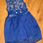 Шикарное платье. Новое, без бирки! 122-128см