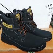 Зимние мужские термо ботинки- Львов на шнуровке. Есть отзывы