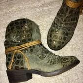 ботинки ботильоны сапоги казаки стелька 22 см