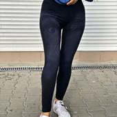 Лосины под джинс отличной плотности, размер 42-46