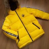 Куртка зимняя Reserved для мальчика 8 лет/128 см