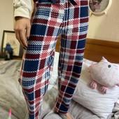 Теплые штаны для дома и сна! 100% хлопок, производитель Турция