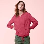 Куртка-ветровка ягодного цвета в стиле casual от Tchibo(Германия), размер наш: 46-48