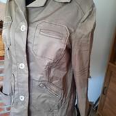 Стильный пиджак рубашка, 50% котон с перломутром
