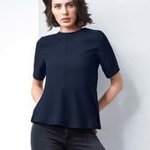 Новая. Стильная элегантная блуза от Tchibo(Германия), размер наш: 46р (38 евро). бирки подрезаны.