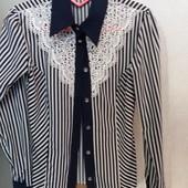 Блузка для модной школьницы