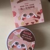Гидрогелевые патчи для кожи вокруг глаз Sersan Love Rose Eye Mask 60 шт