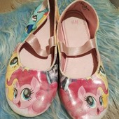 Балетки h&m my little pony, 33р