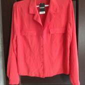 Фирменная новая красивая блуза р.12-14