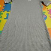 Плаття в рубчик на 14+р.(170/176)