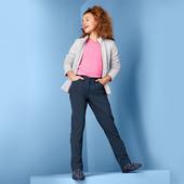☘ зручні м'які теплі штани з софтшелла, Clima, просоченням ecorepel Tchibo (Німеччина), р.: 146/152