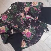 Бомбезная блуза птички цветы ажур в следующем лоте похожая юбка(можно подобрать костюм фото5)
