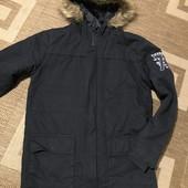 Демісезонна куртка-парка Tiffosi на 11-12 років зріст 152