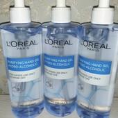 L'Oréal антисептический гель для рук! Большой объём 400 мл