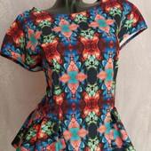 блуза с молнией -неопрен