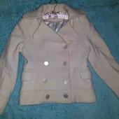 Обалденный теплый пиджак(как пальто),S-M
