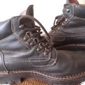 Фирменные ботинки Landrover. р 40. Кожа