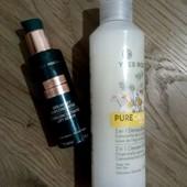2 в лоте! остатки. Сыворотка укрепляющая для лица и шеи + молочко для снятия макияжа Yves Rocher