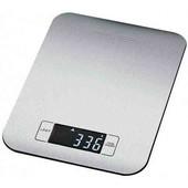 Стальные электронные кухонные весы до 5 кг погрешность +-1 грамм